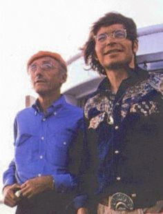 John Denver and Jacques Cousteau