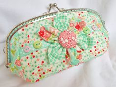 Penny in Pastels handmade coin purse in by BirdsongHandmadeBags Ooh it's SOLD x