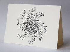Mandala Greeting Cards (Design #2: Vine)  etsy.com TheJohnAndMeghanShow