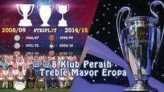8 Klub Peraih Treble Mayor Eropa