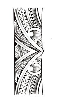Band Tattoo Designs, Family Tattoo Designs, Armband Tattoo Design, Maori Tattoo Designs, Tattoo Sleeve Designs, Sleeve Tattoos, Maori Tattoo Arm, Tribal Band Tattoo, Polynesian Tribal Tattoos