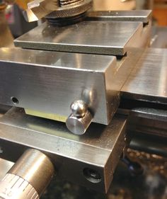 MOWRER WW LATHE TOOLS: Derbyshire cross slide lock down for watchmakers lathe