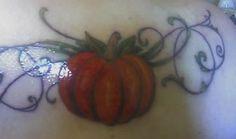 My pumpkin, right after.