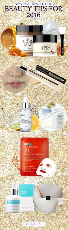 NEW YEAR RESOLUTION BEAUTY TIPS FOR 2016! Our best recommendations to achieve your best skin year! ---> http://www.wishtrend.com/glam/new-year-resolutions-2016-beauty-tips/ <--- #newyears #newyear2016 #beautytips #skincare #korean #koreanskincare