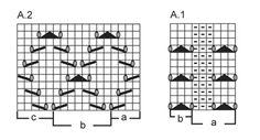 "Chaqueta DROPS tejida en punto musgo con patrón de calados, en ""Cotton Light"". Talla: S – XXXL. ~ DROPS Design"