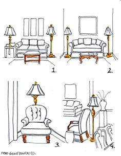 Can You Put A Floor Lamp Next To A Sofau201d?   Fred Gonsowski Garden Home