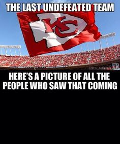 NFL_Memes : Yep, the Broncos are now in their division behind Kansas City! Love my Chiefs! Chiefs Memes, Funny Football Memes, Funny Nfl, Funny Sports Memes, Nfl Memes, Sports Humor, Football Humor, Hilarious, Kansas City Chiefs Tickets
