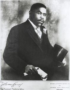 [Marcus Garvey's wedding photograph], Christmas 1919; Founder and President General of the Universal Negro Improvement Association; First Pr...