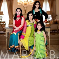 Designer Dresses, Eid Dresses, Eid-Collection, Embroidery, Evening Wear, Formal Dresses, Maria B, Pakistan Fashion, Party Wear, Ready To Wea...