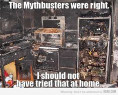 just mythbusters
