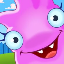 The Monsters Family - Take it slow and let your kids learn to count, recognize shapes and much more with this crazy family