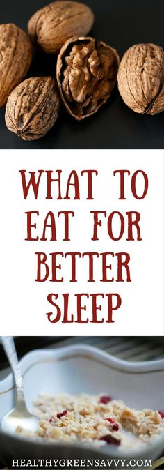 Your diet could be sabotaging your sleep! Find out what to eat for better sleep…