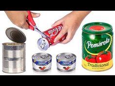 Videomu beğenmeyi unutmayın :) Gelecek videolar için lütfen abone olun Hoşçakalın AYNUR ŞİMŞEK ----- Don't forget to like my video :) Please subscribe for my... Recycle Cans, Diy Cans, Creative Crafts, Diy And Crafts, Pallet Picture Frames, Aluminum Cans, Recycled Crafts, Diy Videos, Fabric Painting