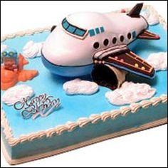 Airplane cake cake Pinterest Cake