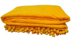 Yellow Bedspread, Yellow Comforter, Velvet Bedspread, Yellow Quilts, Velvet Quilt, Blanket Sleeper, Queen Size Quilt, Crazy Quilting, Baby Yellow