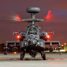 Apache AH1, 673 Squadron, AAC Middle Wallop.