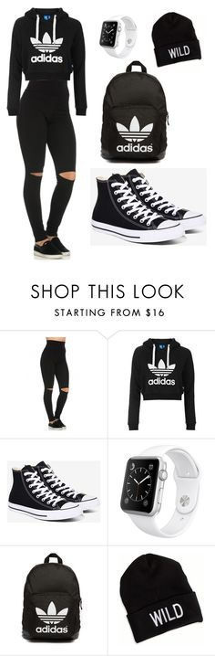 """My Everyday Style"" by toyaboswell on Polyvore featuring Topshop, Converse, Apple, adidas Originals and American Eagle Outfitters"