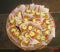 Patat van nibbit chips