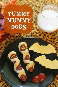 Yummy Mummy Dogs – Halloween Snacks