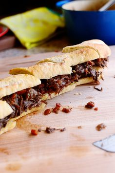 Short Rib Sandwiches. Just glorious.