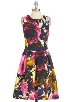 Rosy Does It Dress | Mod Retro Vintage Dresses | ModCloth.com