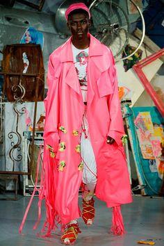 meadham kirschoff - spring 2015 menswear - london - via style.com