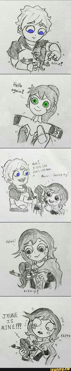 Sorry Pyrrha, I really love you and ship you with Jaune but... Lancaster forever...