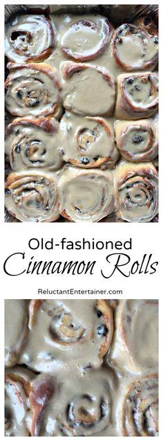 Old-Fashioned Cinnamon Rolls Recipe