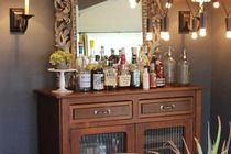 How cool to have a 'Bar' in your house...way grown up....but remember no drinking and driving, sober driver always