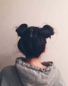 Los dos chonguitos. | 30 Peinados originales para probar cada día del mes