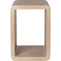McGuire Furniture: Laura Kirar Desert Side Table: 955