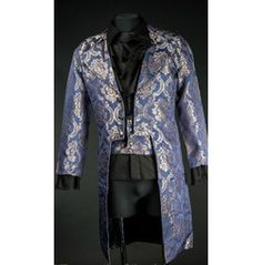 Blue Royal Victorian Gentleman's Tailcoat