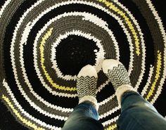 Virkattu matto