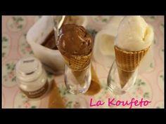 Παγωτό Καϊμάκι μαστιχωτό παγωτο καιμακι  με σαλέπι - YouTube