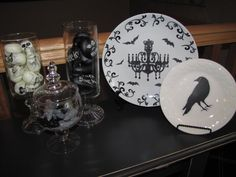 halloween plates - Google Search