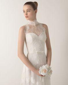 24 vestidos de novia preciosos para las más bajitas: Alarga la elegancia de tu estilismo al instante