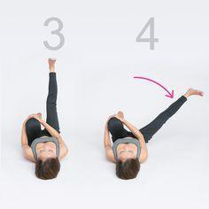 ヒップアップ、美脚にも!腸を正しい位置へ戻して筋力強化【美腸エクササイズLesson2】 | MAQUIA ONLINE(マキアオンライン)