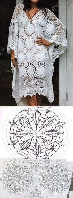 Patrón de ganchillo chal de Encaje para Damas Florales Patrón de tamaño 66 cm X 178 Cm