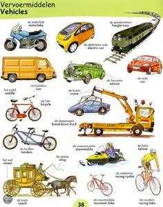 Vervoermiddelen / Vehicles & https://www.bol.com/nl/p/1000-woordjes-nederlands-engels/1001004011425913/