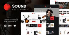 CURRENT VERSION 1.4 (see Change log at the bottom of this page)    ThemeREX is happy to present its new WooCommerce theme – Sound. It's a premium quality theme specially designed for online mus...