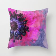 Flower #1 by Psychae Pillows available on http://society6.com/psychae