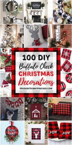 100 DIY Buffalo Check Christmas Decor Ideas : 100 DIY Buffalo Check Christmas Decorations Give your home a cozy makeover with these buffalo check Christmas decor ideas. There are indoor and outdoor DIY buffalo check ideas for your whole home. Buffalo Check Christmas Decor, Plaid Christmas, Christmas Home, Christmas Holidays, Homemade Christmas, Christmas Wreaths, Christmas Ornaments, Dollar Store Christmas, Christmas Snowman
