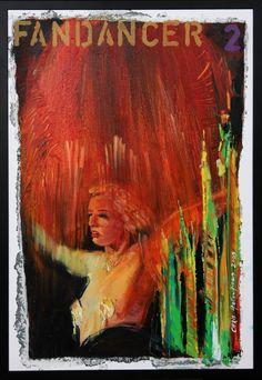 Chris F: FANDANCER 2 oil on canvas