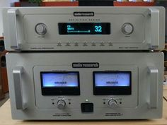 Audio Research Reference 75 Power Amplifier and DS Preamplifier
