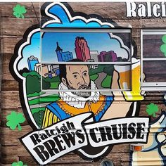 Need some #fun? Go on a #brewscruise with @raleighbrewscruise! Each cruise #visits 3 #local #breweries! #learn about #beer and book a #cruise today! #showsomelocallove #drinklocal #beerme #raleigh #goodtimes #goodbeer #tour