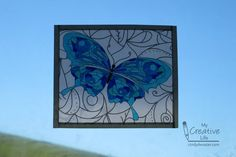 Faux Stained Glass Coloring Book Pages | What a fun printable!