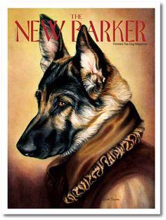 ISSUE NO. 10 — WINTER 2009/10 GERMAN SHEPHERD by LINDA CHAPMAN #thenewbarker #dogmagazine #germanshepherd #doglovers