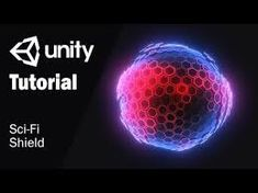 Guide how to creare Sci-Fi shield in Unity using Shader Forge and Blender Coding Tutorials, Unity Tutorials, Unity Games, Unity 3d, Vfx Tutorial, Digital Art Tutorial, Unity Game Development, Light Shield, Creating Games