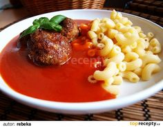 Czech Recipes, Ethnic Recipes, Thing 1, Bon Appetit, Ramen, Grilling, Food And Drink, Cooking Recipes, Beef