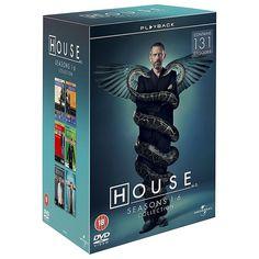 Dr House saison 1 à 6 en un seul coffret dvd